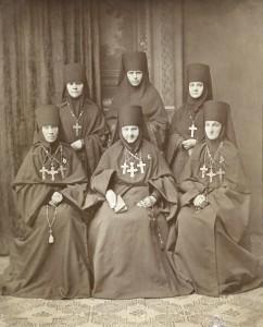 монахини Благовещенского монастыря в Сарапуле