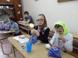 Пасха в Воскресной школе Благовещенского монастыря Сарапул Удмуртия 010516 (6)